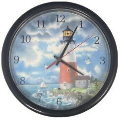 Lighthouse Wall Clock- Needs Batteries
