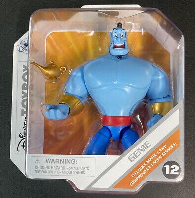 Disney Store Disney Toybox Aladdin Genie with Lamp Action Figure New