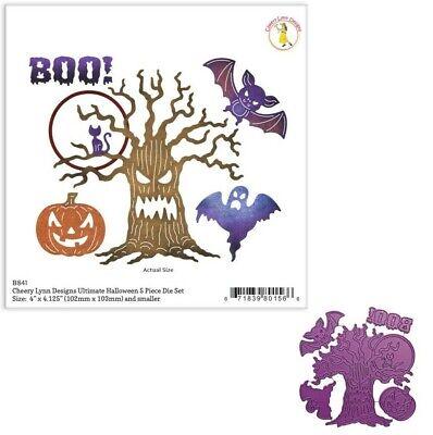 Pumpkin Carving Halloween Tree (Ultimate Halloween Set Metal Die Cut Cheery Lynn Cutting Dies Tree Boo)