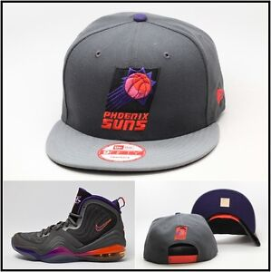 New Era Phoenix Suns Custom Snapback Hat For The Air Penny 5 V