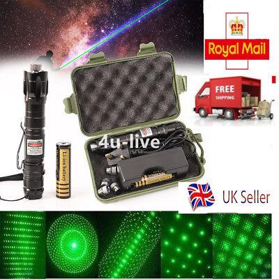 Professional 1mw 532nm 8000M Adjustable Green Laser Pointer Light Pen Lazer Beam