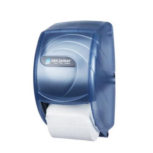 San Jamar R3590TBL Oceans Duett Bath Tissue Dispenser - Blue