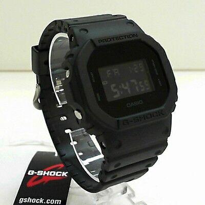 New Casio G-Shock Matte Black Watch DW-5600BB-1