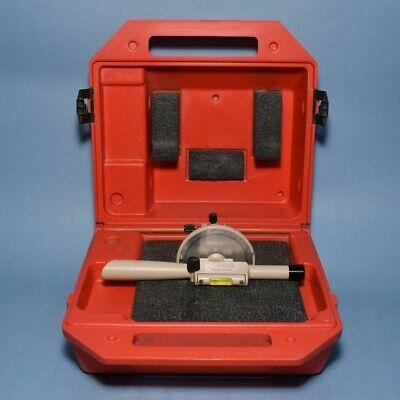 David White Instruments Meridian L6-20 Transit Level In Case