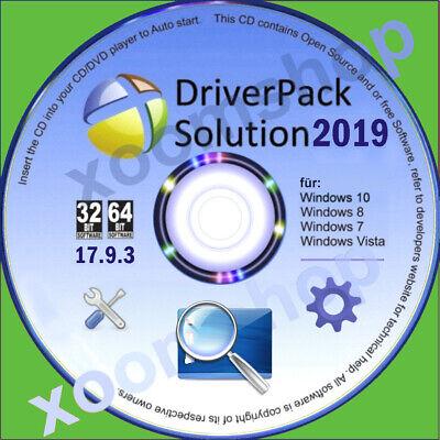 █ Universal Treiber CD DVD 2019 für PC Notebook Windows 10 / 8 - XP- Vista - W7 ()