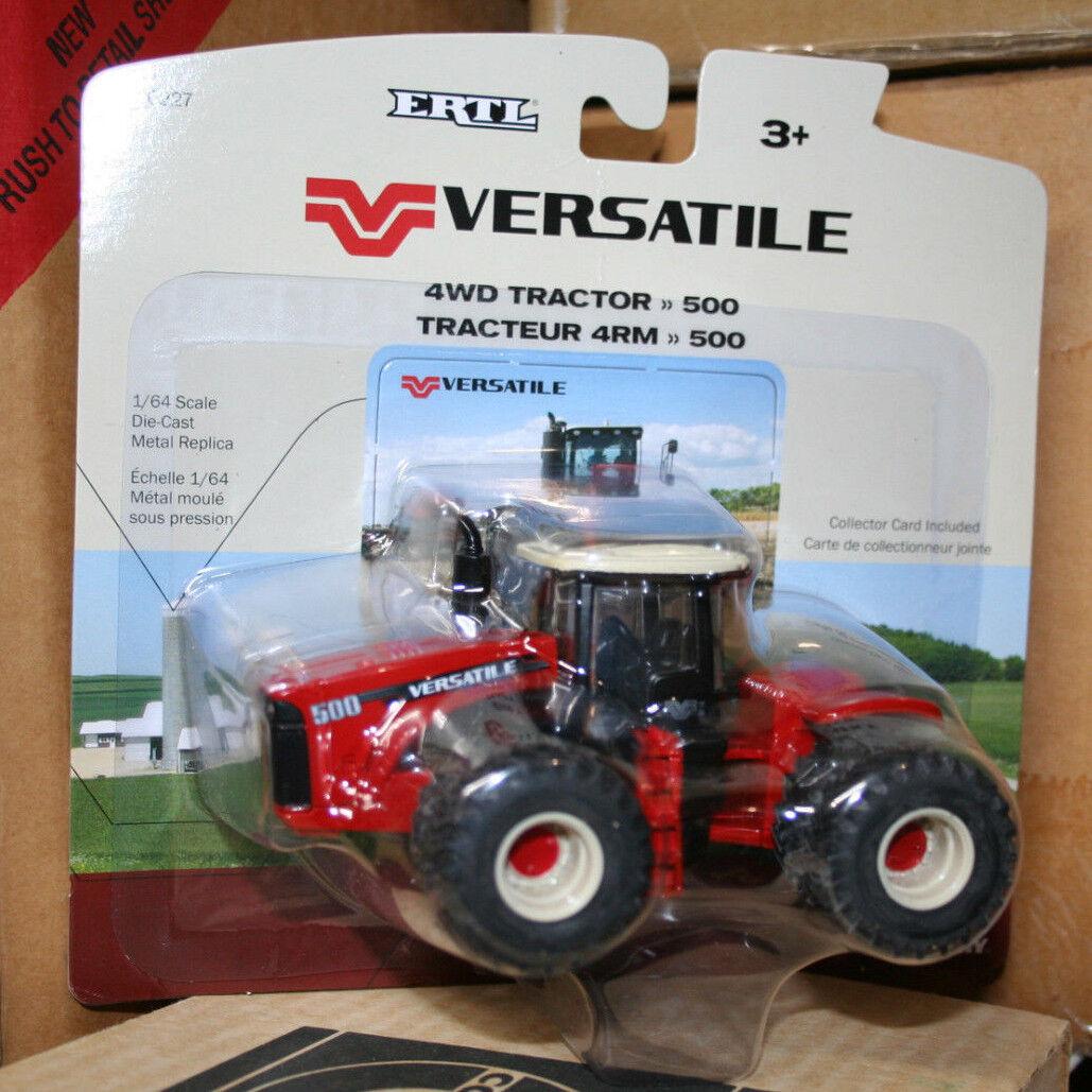 ERTL Versatile 500 4WD Tractor w/ duals, 1:64 Scale Repliaca Tractor **NEW**