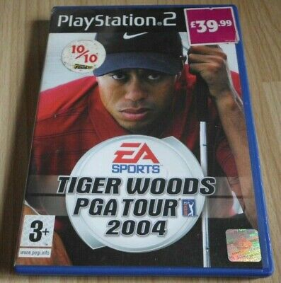 Tiger Woods PGA TOUR 2004...Playstation 2 Game for sale  Shipping to Nigeria
