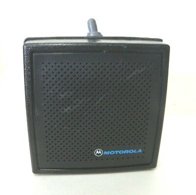 Motorola Hsn6003b Motorcycle External Radio Speaker 13w