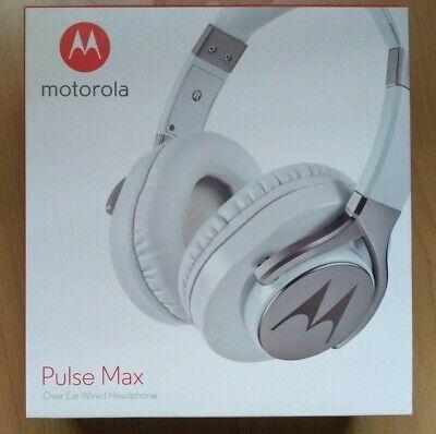 BNIB Motorola Pulse Max Wired Headphones White