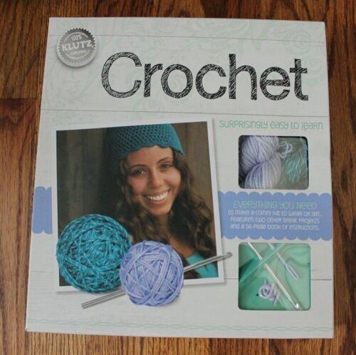 Klutz Brand Crochet Kit Adult (14 & up) NEW