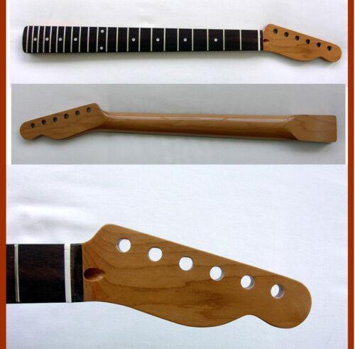 Roasted Telecaster CHUNKY Guitar Neck / Ebony Fretboard-MOP- & Warmoth Nut-TELE