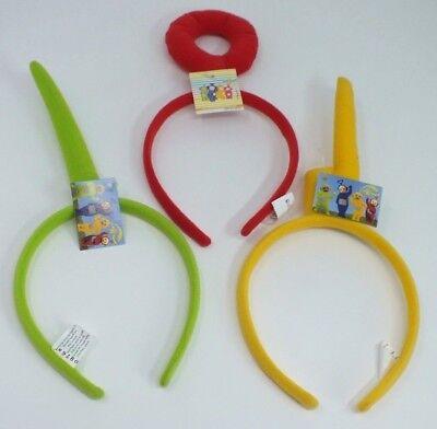 ped Felt Headband Green, Red, Yellow (Telly Tubbies)