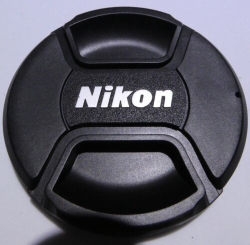 Nikon 72mm Front Lens Cap with Logo LC-72 Snap On