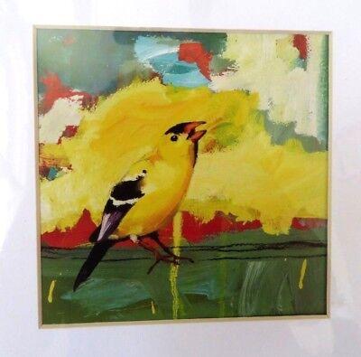 "Artwork by Jennifer Rasmusson Bird 8x10 ""Tell Me All About It"" Print Artbeats"