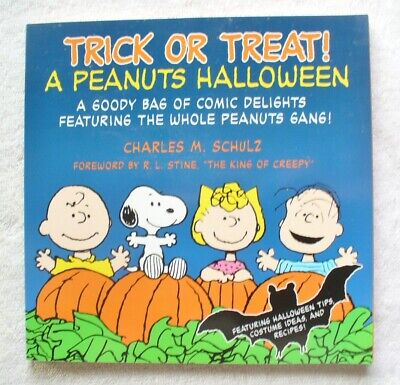 TRICK or TREAT-A Peanuts Halloween 1st Edition 2004 Comic Strip Paperback-PC8