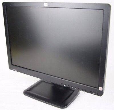 """HP LE1901wm 19"""" LCD Monitor, w/ Power & VGA Cables, 1440 x 900, Grade A (SD)"""