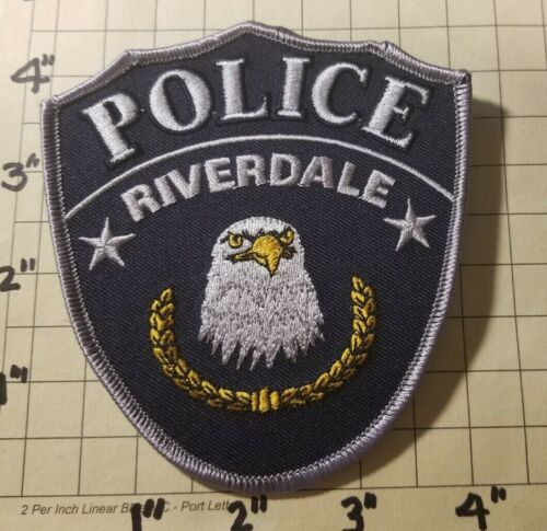 Riverdale (UT) Police Department Patch       ***NEW***