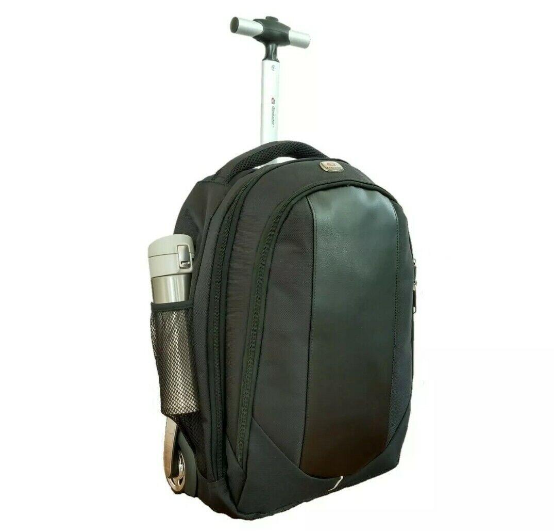 Backpack with Wheels, Freewheel Wheeled Laptop Backpack, Hig