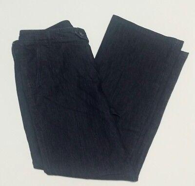 Womens Izod Denim Jeans Sz 14 Dark Wash Waist 36