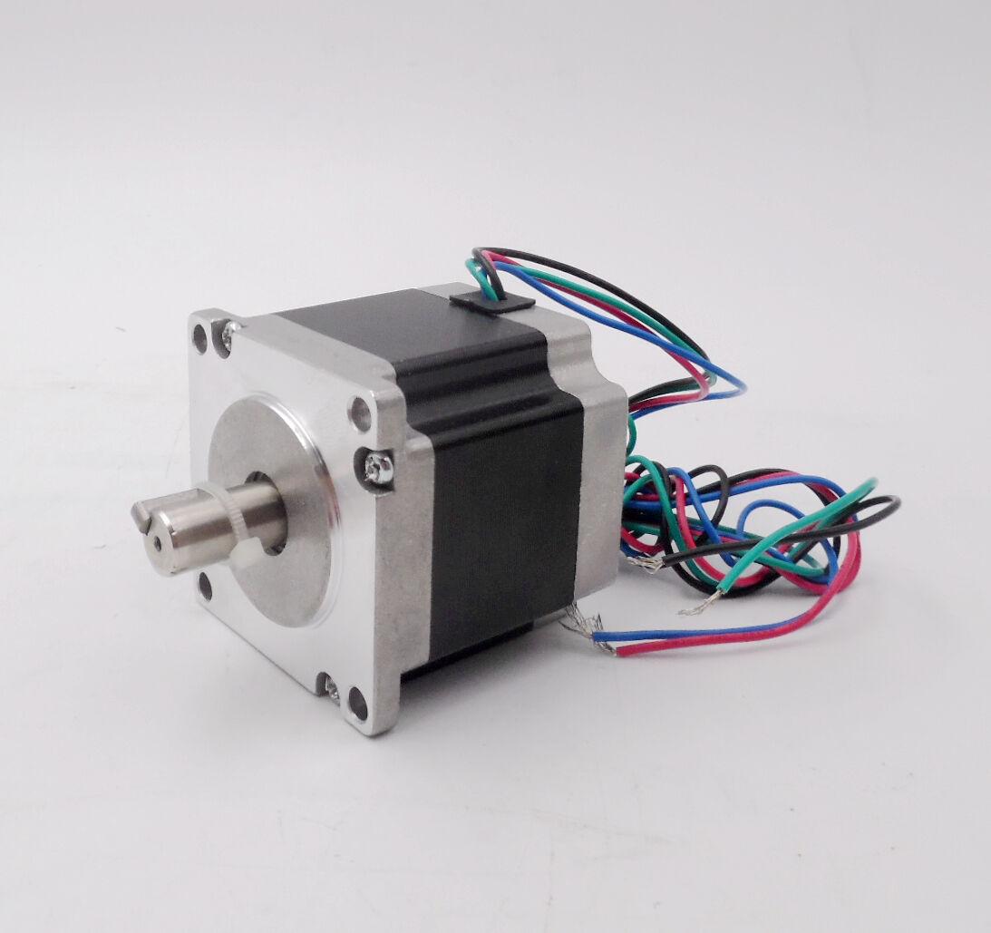 Ratio 30 1 Gearbox Nema23 Nmrv030 Worm Gear L56mm Stepper