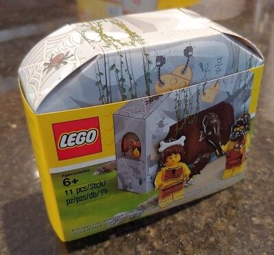 LEGO 5004936 Caveman and Cavewoman Minifigure Set New and Sealed