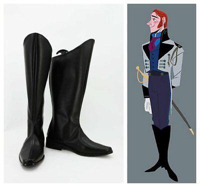 Frozen Hans Prince cosplay kostüm stiefels stiefel schuhe schuh ()