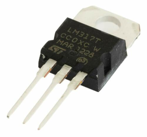 10PCS LM317T LM317 Linear Variable Voltage Current Regulator TO-220