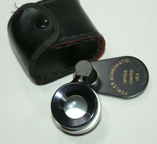Fowler achromatic optics coated 15x Japan