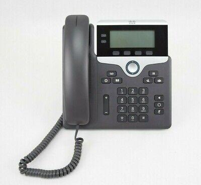 Cisco Cp-7821 Ip Phones Office Gray
