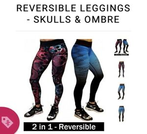 Constantly varied gear (cvg) reversible leggings