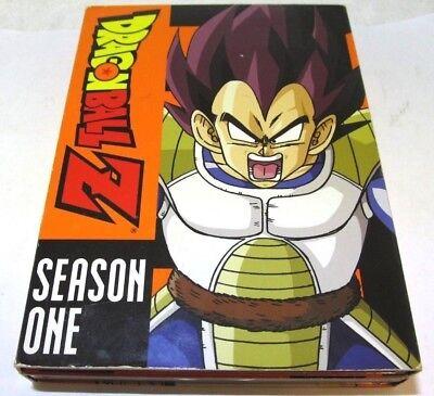 Dragon Ball Z - Season 1 (DVD, 2007, 6-Disc Set, Uncut Remastered)