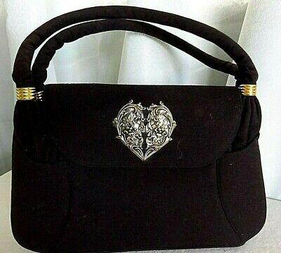 1940s Handbags and Purses History Vintage 1940's Koret wool handbag  $55.92 AT vintagedancer.com