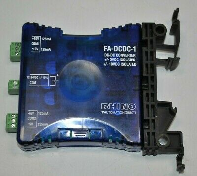 Automation Direct Rhino Dc-dc Converter Model Fa-dcdc-1