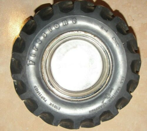 Vintage Firestone Tire Company All Traction Champion Tractor Tire Ashtray