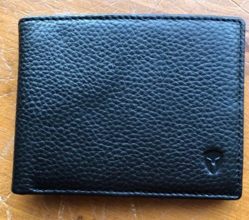 2 Id Window Rfid Wallet For Men, Bifold TopFlip, Bryker/Hyde
