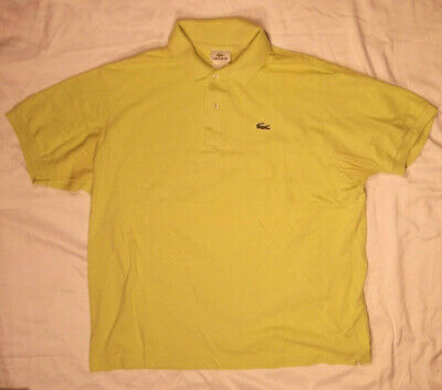 LACOSTE SHIRT 7 GREEN POLO SS MENS 100% COTTON PIQUE ALIGATOR LOGO SUMMER READY