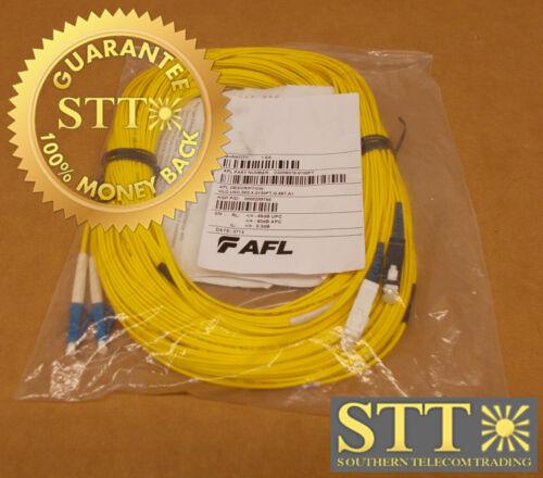 Cs005018-0100ft Afl Fiber Cable 2 Count Sm Dual Lc/sc 100 Ft New