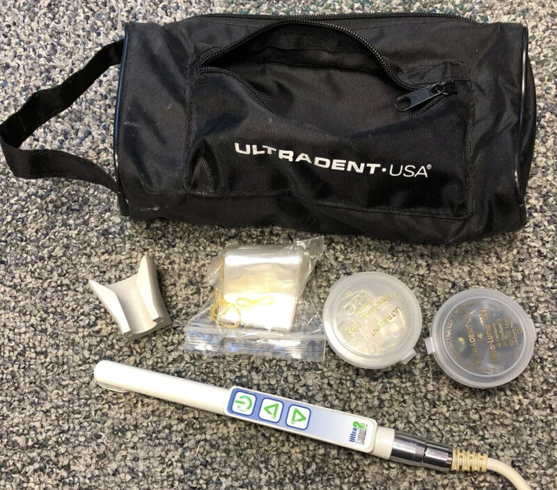 Ultradent Cordled LED Dental Curing Light With Extras