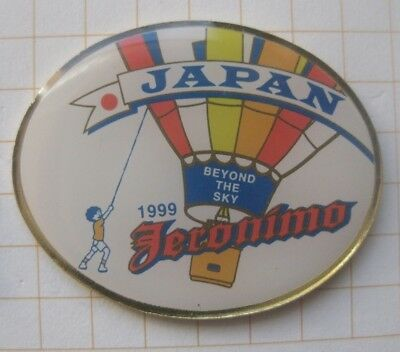 JERONIMO / BEYONG THE SKY / JAPAN ............... Ballon-Pin (168a)