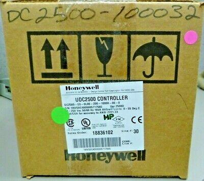 Honeywell Dc2500-e0-0l00-200-10000-00-0 Temperature Controller Udc2500