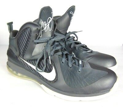 Nike LeBron 9 Cool Grey Mens 469764-007 - Size 15 Clean Lightly Worn Basketball