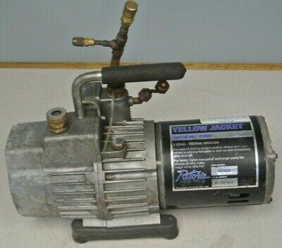 Ritchie Yellow Jacket 93480 Superevac Vacuum Pump 8cfm 2-stage