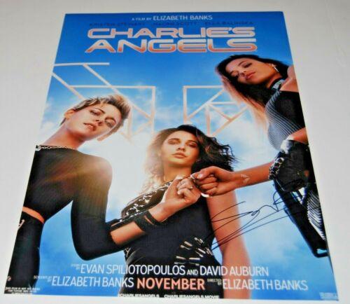 ELLA BALINSKA signed (CHARLIE'S ANGELS) 12X18 movie poster photo PROOF W/COA #1