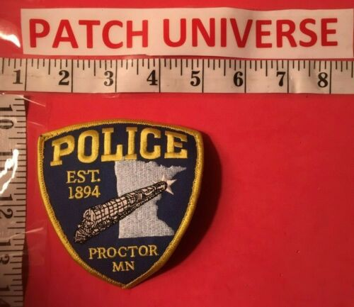 PROCTOR MN  POLICE  SHOULDER PATCH  F051