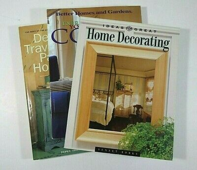 Lot (3) Debbie Travis' PAINTED HOUSE Better Homes Gardens COLOR Home (Best Interior House Paint)