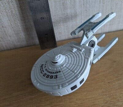 Star Trek Innerspace Series USS Stargazer Starship Mini Playset by Playmates.