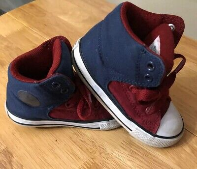Toddler High Top Converse (Converse All Star Toddler Easy On High Top Shoes )