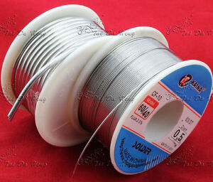 Bulk-10g-100g-60-40-Tin-lead-Solder-Wire-Rosin-Core-Soldering-2-Flux-Reel-Tube