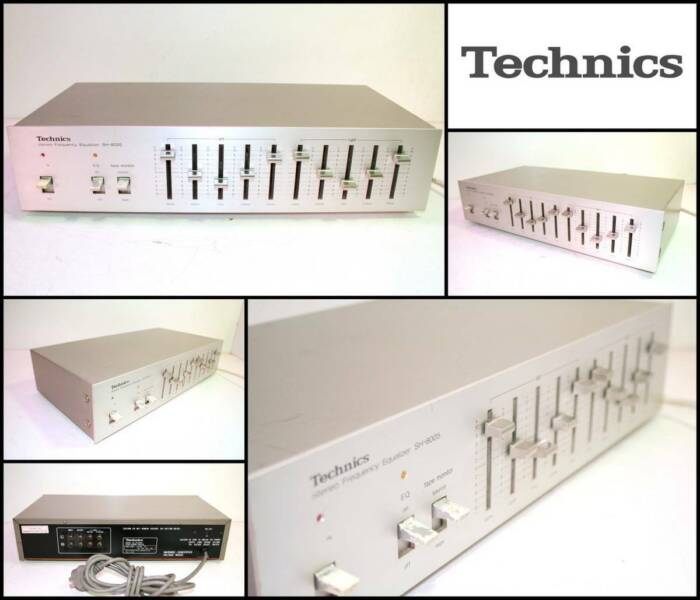 TECHNICS SH-8005 10 Band Stereo Frequency Equalizer
