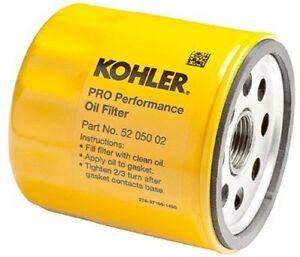 kohler oil filter for bad boy briggs cub cadet john deere onan toro ebay. Black Bedroom Furniture Sets. Home Design Ideas
